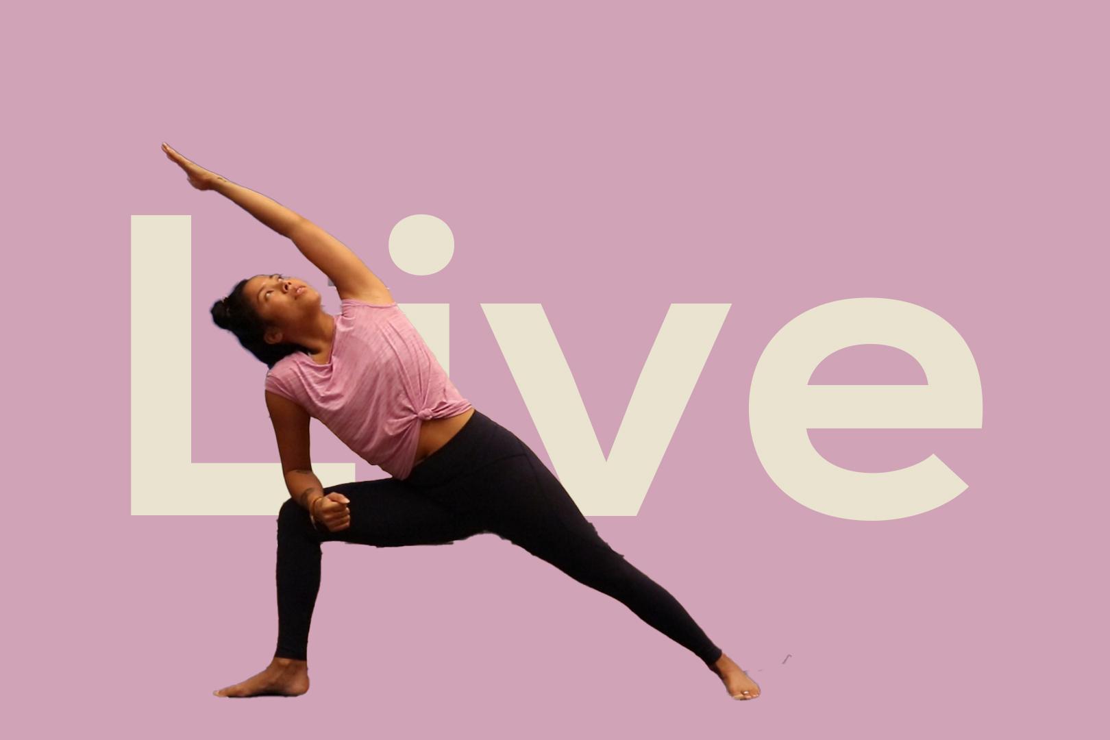 K'dans Online nieuwe live yoga les
